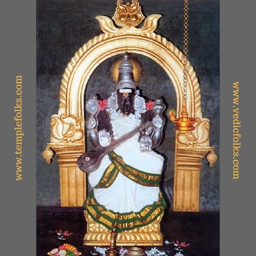 Saraswathi is worshipped in the last three days of navratri. Goddess blesses  her devotees with wisdom and helps to take the right decision.