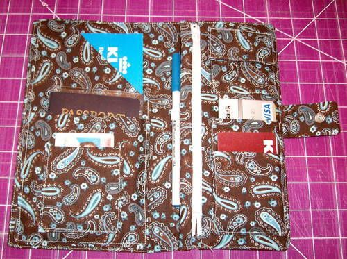 Travel Wallet NOW WITH TUTORIAL!! pg. 1 - PURSES, BAGS, WALLETS
