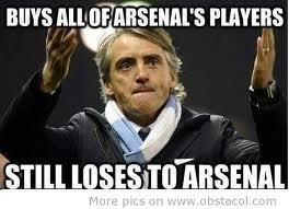 Buys all of Arsenals players....still loses to Arsenal #Soccer #CSR #Bizitalk