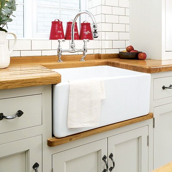 Budget kitchen sinks | Update your kitchen on a budget | Budget kitchens | PHOTO GALLERY | Housetohome.co.uk
