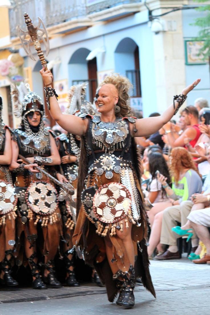 Moors & Christians festival in Denia, Spain