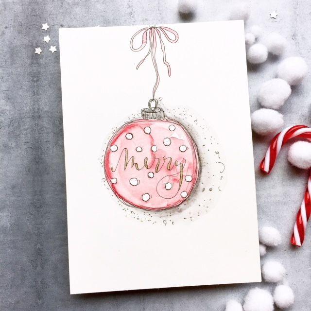 WEIHNACHTSZAUBER Karte Merry Christmas