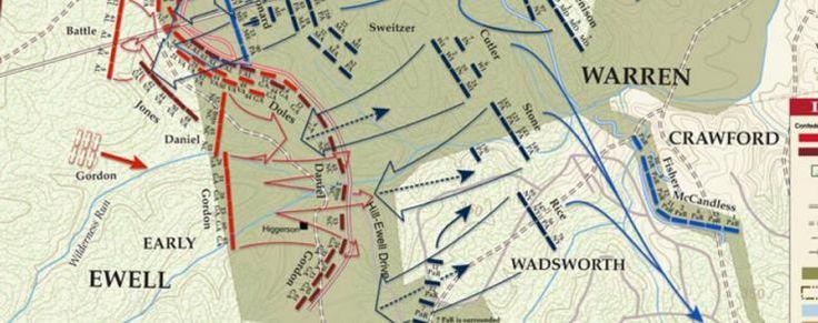 Battle of the Wilderness - Orange Turnpike - May 5, 1864