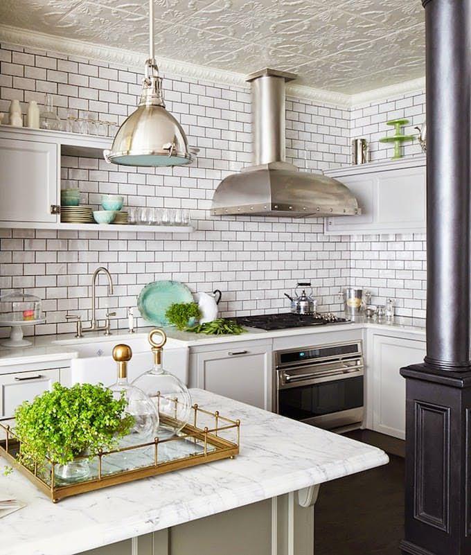 Best 25 Tin ceiling kitchen ideas on Pinterest