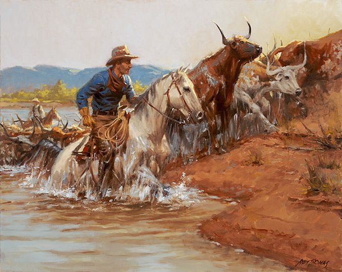 ANDY THOMAS River Crossing