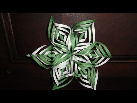 Ollóval bevágta a papírháromszöget, majd elkészítette a legszebb téli dekorációt - MindenegybenBlog