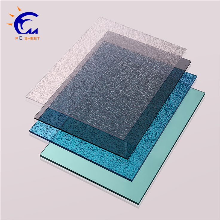 4mm frosted polycarbonate solid pc matte sheet for office chair mat