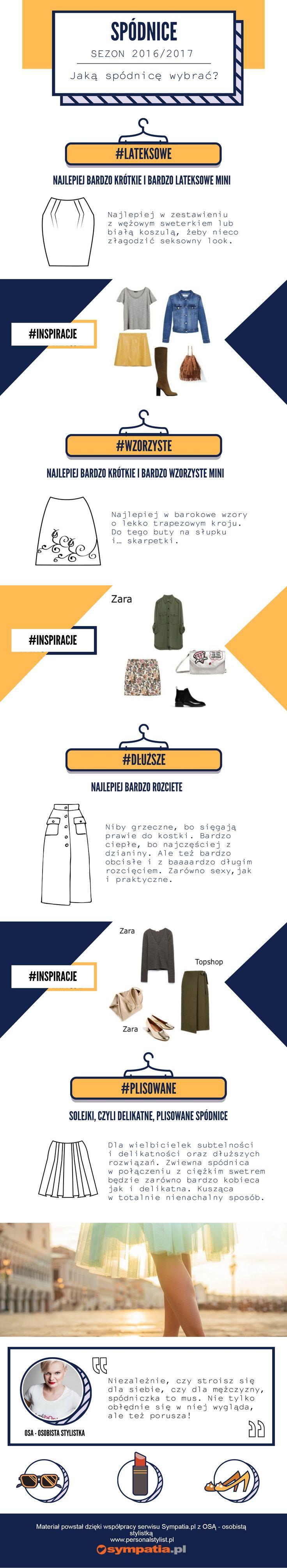 About trendy skirts. Osa (www.personalstylist.pl) for www.sympatia.pl
