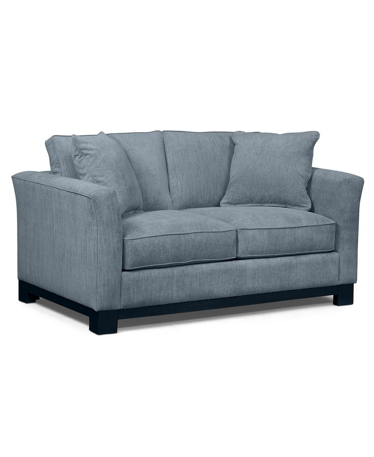Kenton Fabric Loveseat:Custom Colors - Small Space Furniture - Furniture - Macy's