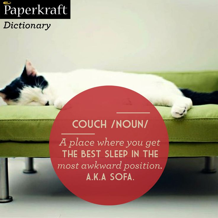#UrbanDictionary #funnydefinitions The bliss of a couch!