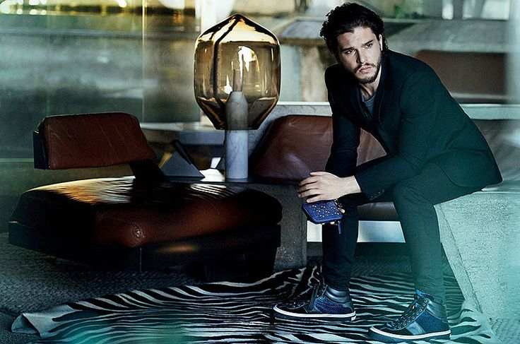 Seriously, Jon Snow. Photo courtesy of Jimmy Choo