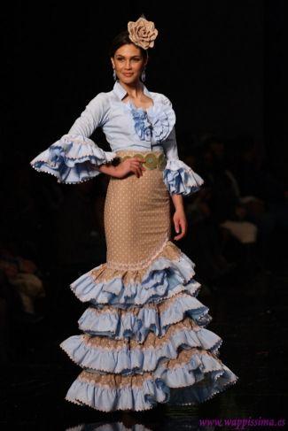 Traje de Flamenca - Adrian-Gonzalez - SIMOF-2013