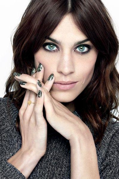 Alexa Sequins polish #nailsinc