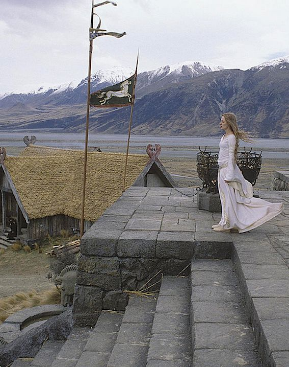 Miranda Otto as Eowyn in The Lord of the Rings: The Two Towers - 2002