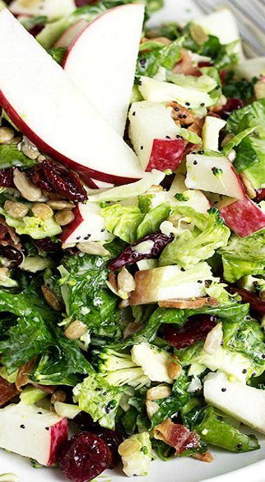 Fall Kale Super Salad