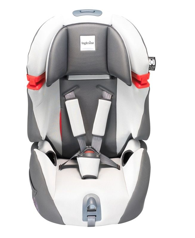 Inglesina Mille Miglia 1/2/3 Car Seat Grey Ultimately be removed from the seat to create a booster seat; making Mille Miglia the perfect solution for your growing child Homologated according to the European ECE R 44/04 standard.