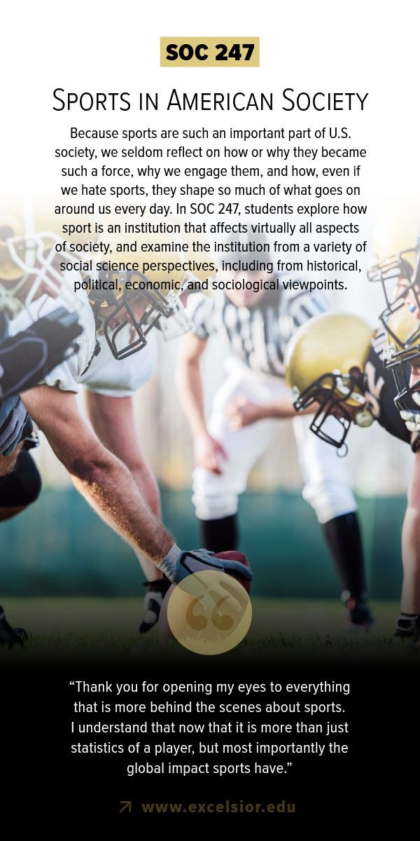 #sports play an vital role in american society, learn more in SOC 247 #sociology #sports #olympics #football #superbowl #pyeongchang2018
