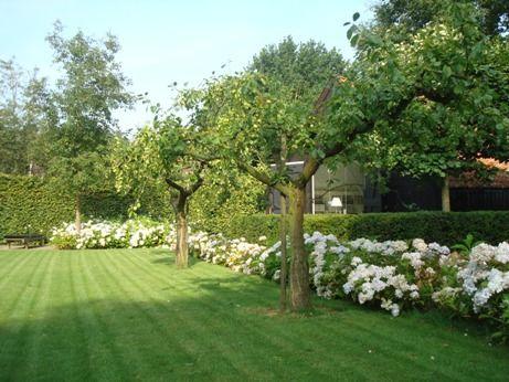 Eenvoudige boerderijtuin