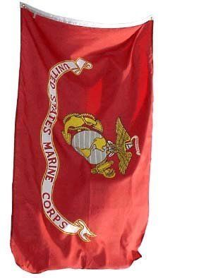 3x5 United States Marine Corps Flag USMC Military Flags by .. $3.47. 3'x5' 100% POLYESTER FLAG w/GROMMET STRIP FOR ATTACHING TO POLE.. 3'x5' 100% POLYESTER FLAG w/GROMMET STRIP FOR ATTACHING TO POLE.