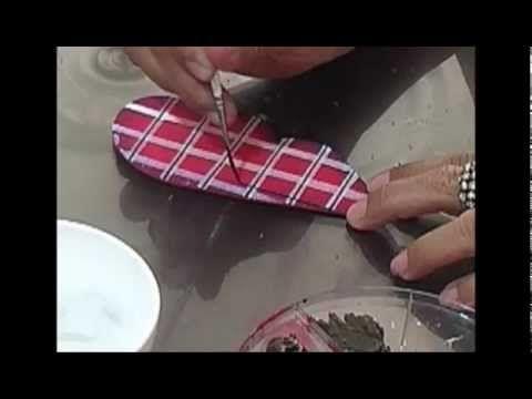 ¿Cómo elaborar textura escoces en foamy?