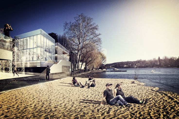 OPERASTUDIO - Project - Cultural and sport center - Varese #italy #lake #beautiful place #beach