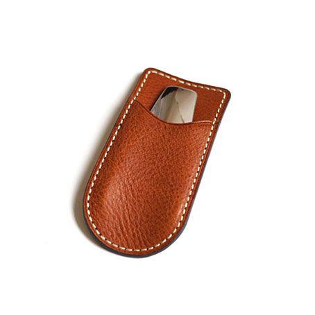 TSUCHIYA BAG HK / URBANO - Leather Case Shoehorn