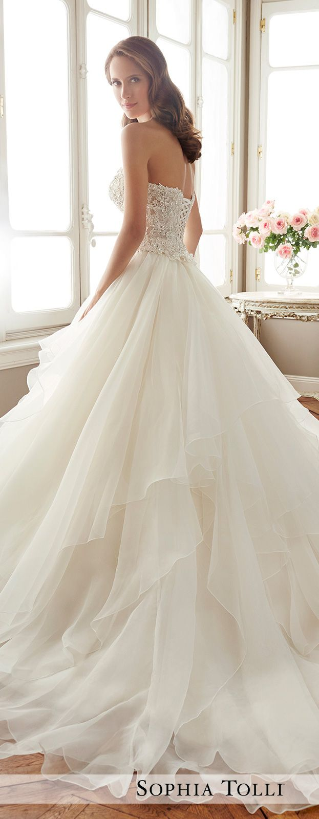 137 best Wedding dresses images on Pinterest | Short wedding gowns ...