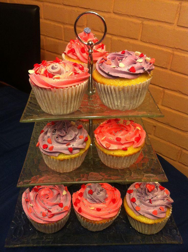 Cupcakes de rosas.. exquisitos!