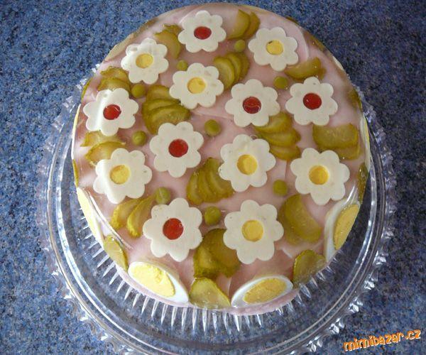 aspikový dort