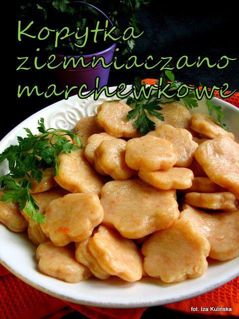 Smaczna Pyza: Kopytka ziemniaczano marchewkowe