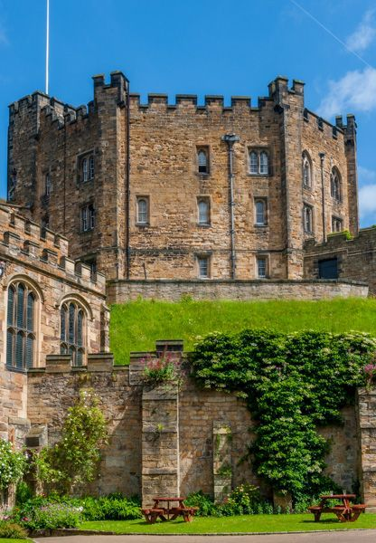 Durham Castle, England, a living castle, parts are used for student accommodation from Durham University