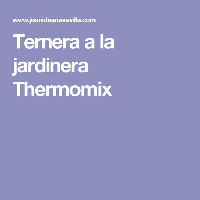 Ternera a la jardinera Thermomix