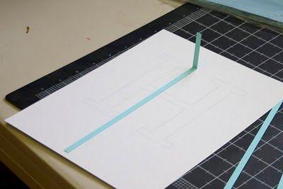 Craftastical!: Tutorial: Quilled Monogram Letter