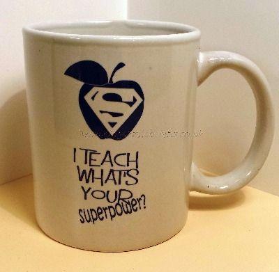 ...and I need this mug.                    Beautiful Handmade Gifts - Handmade Teacher Gifts for End of Term.