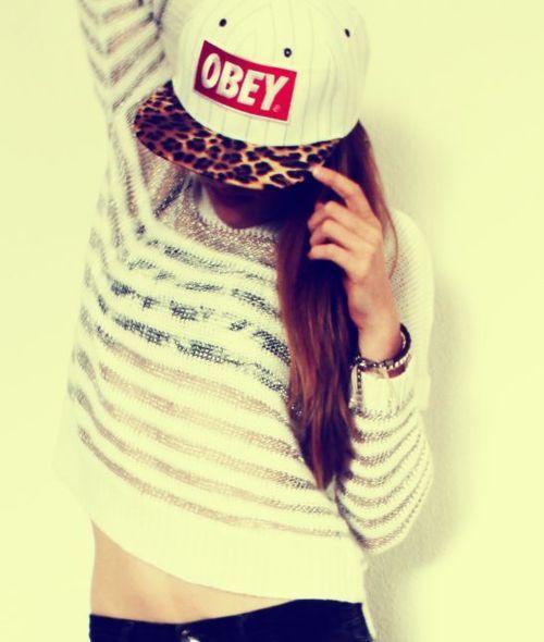 gorras obey para mujeres