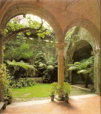 A Courtyard Garden not only provides a restful retreat of beauty from the rest o