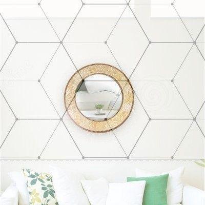 Sublime Unique Ideas: Wall Mirror Diy Dollar Store… – #abovecouch #DIY #dollar #ideas #mirror