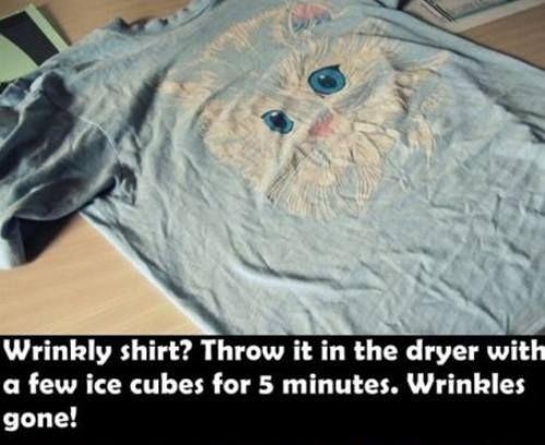 Wrinkly shirt