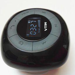 Amazon.fr:Commentaires en ligne: [Upgraded Version]VTIN Relaxer Mini Enceinte Bluetooth 4.0 Haut-Parleur Etanche Puissant avec Tuner FM Radio Ecran LCD Digital Pour les Appels/Siri pour iPhone 6/6 plus, 5/5s, Samsung Galaxy et Tous les Périphériques Bluetooth-Noir