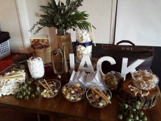 Rustic Australian lolly buffet by i want i wish i could
