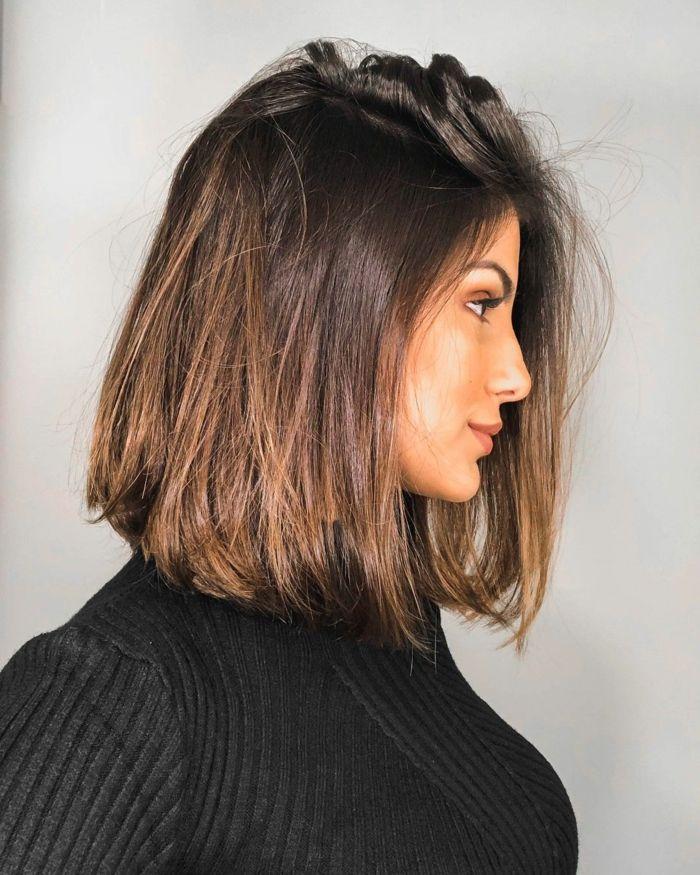 1001 Ideen Fur Wunderschone Bob Frisuren 2020 In 2020 Schulterlange Haare Glatt Braune Haare Frisuren Frisuren Lange Haare Schnitt