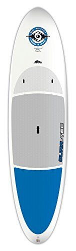 BIC Sport DURA-TEC Stand Up Paddle Board, 10.4-Inch, White/Blue *** For more information, visit image link.
