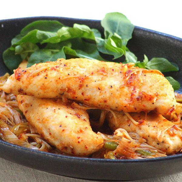 居酒屋風おつまみ★鶏のささみとえのきの食べるラー油炒め   鶏肉レシピまとめ