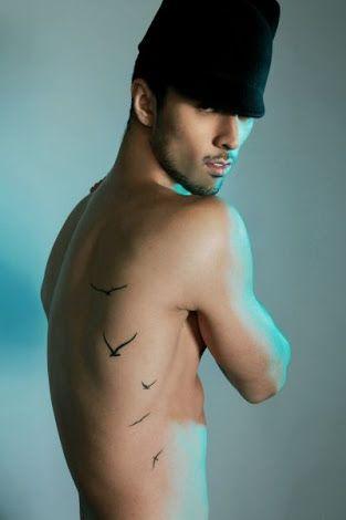 bird tattoo ribs men - Google Search