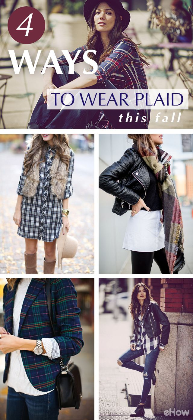 How to dress an apple shaped figure ehow - From Relaxed Street Style To Polished And Sophisticated Working Attire There Are Different Ways To Wear Plaid The Most Iconic Fall Pattern