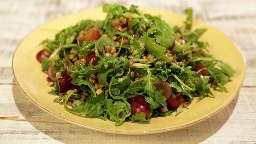 Lentil Salad with Arugula and Grapes Recipe | The Chew - ABC.com