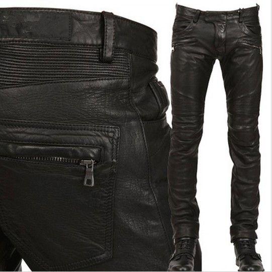 Vintage leather biker pants - Google Search