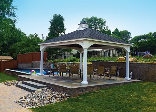 From Pergolas To Gazebos Beams Lattices We Have Many Options For Your Dream Porch And Patio Cover