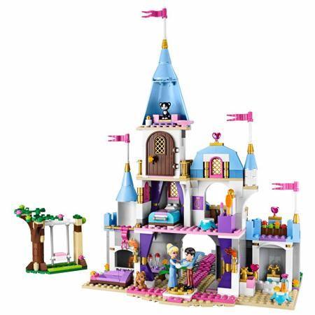 LEGO Disney Princess Cinderella's Romantic Castle Play Set $60