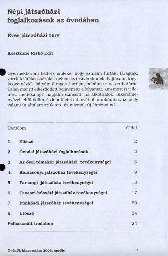 C4-18 - Népi játszóházi foglalkozások az óvodában - Angela Lakatos - Picasa Webalbumok